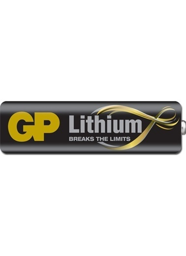GP Lithium AA Kalem Pil 2'li Paket Renksiz